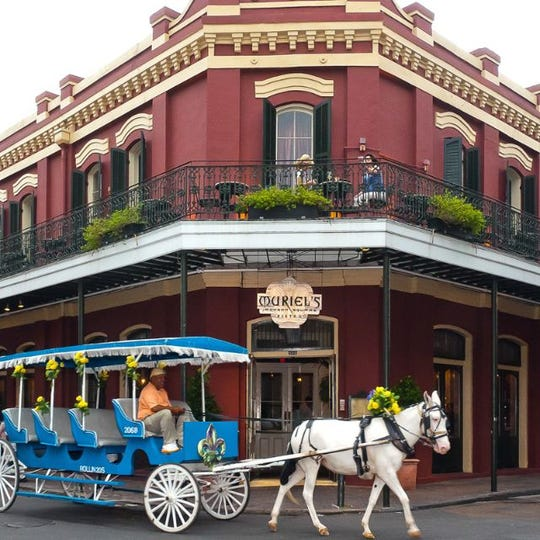 Muriel's Jackson Square in New Orleans.