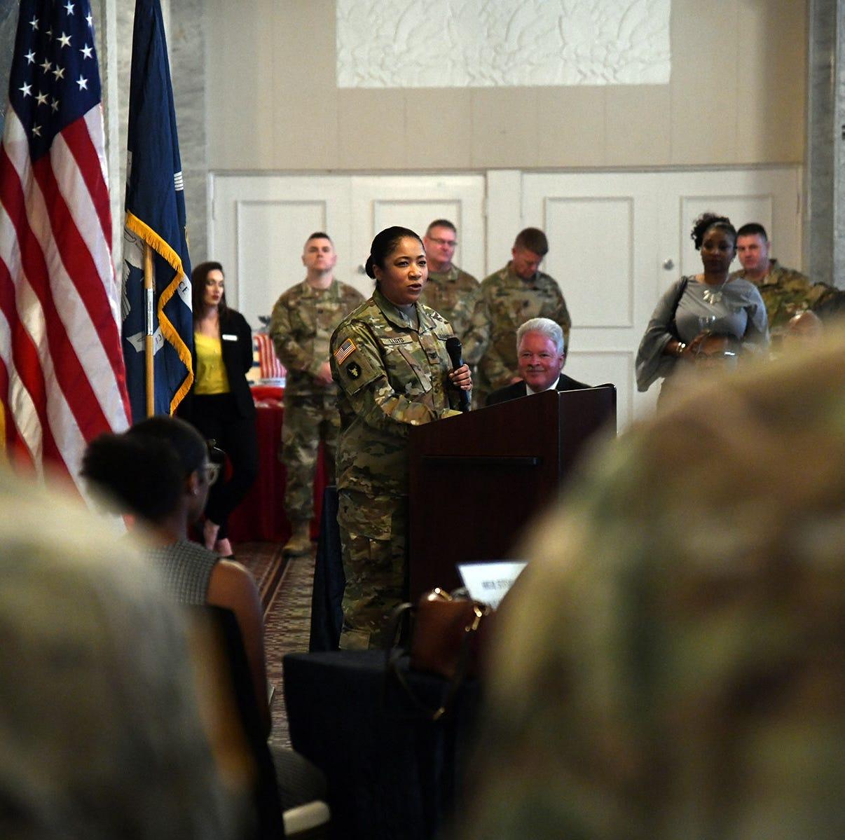 Alexandria native makes history with National Guard