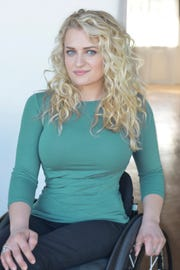 The Tony-nominated actress Ali Stroker grew up in Ridgewood.