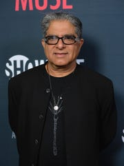 """Deepak Chopra attends the premiere of Showtime's """"Kobe Bryant's Muse"""" at The London Hotel on February 26, 2015 in West Hollywood, California."""