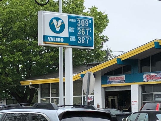 Average gasoline prices are approaching $3 a gallon, as seen at this Fair Haven station.