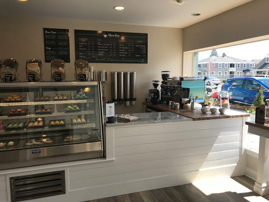 Shore Pour, which serves pour-over coffee, espresso drinks, and baked goods, opened in March in Sea Girt.