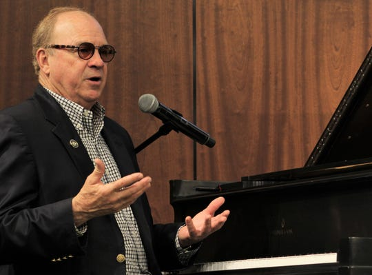 "Chris Christian told the stories behind his songs recorded by others and the ground-breaking albums he produced at a community luncheon Tuesday at Abilene Christian University. One song was ""Love Song of the Year,"" recorded by Elvis Presley."