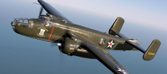 'Special Delivery,' a B-25 from the Lone Star Flight Museum.