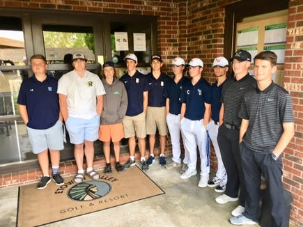 Roberson's Luke Ward won the WMAC golf tournament while West Henderson took home the team title