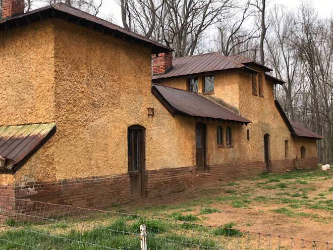 The Brooder House on the Biltmore Estate was originally used for chicken breeding.