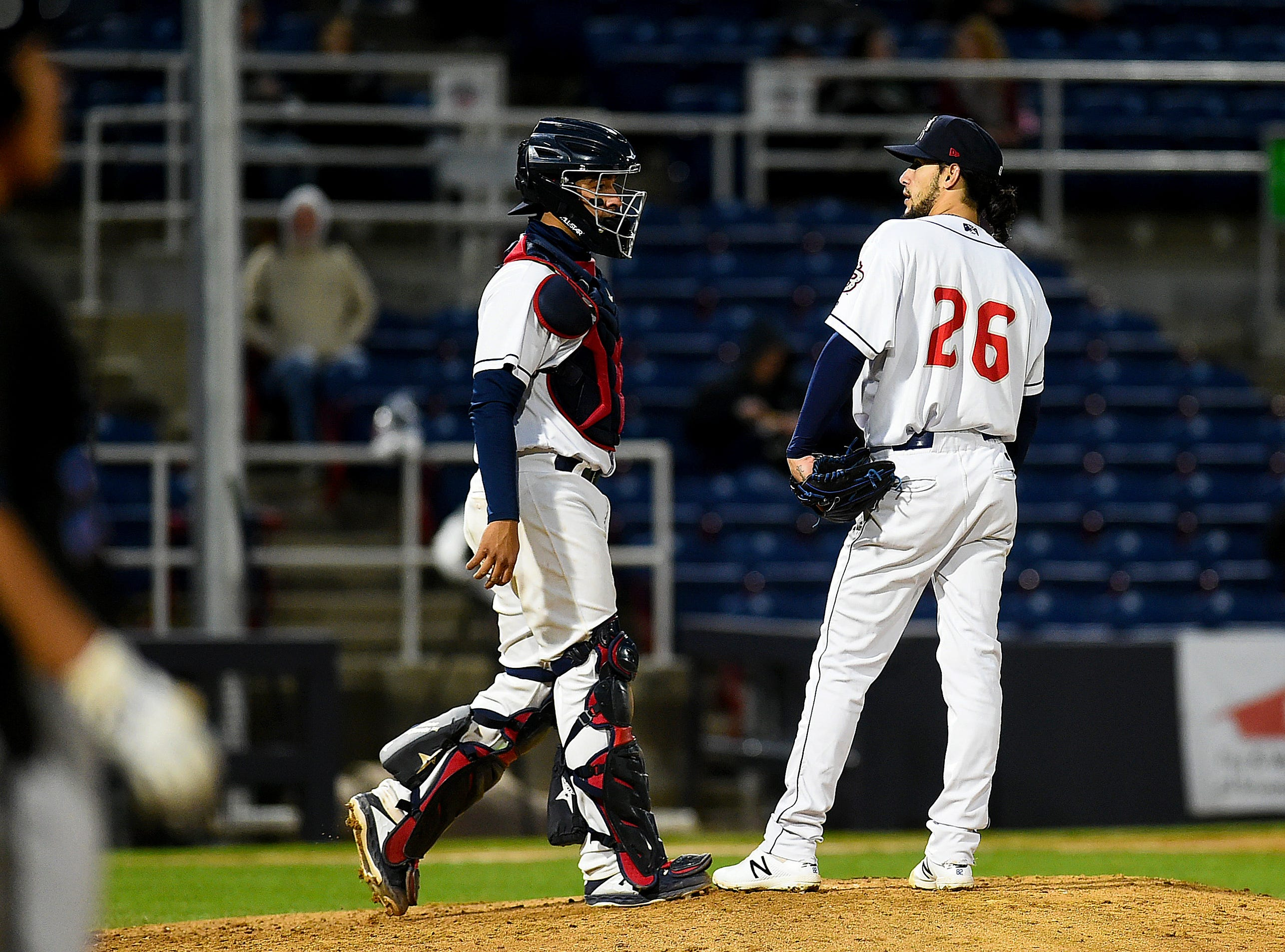 Binghamton Rumble Ponies hosted the Akron RubberDucks at NYSEG Stadium, April 29, 2019. Akron won with a final score of 9-5.