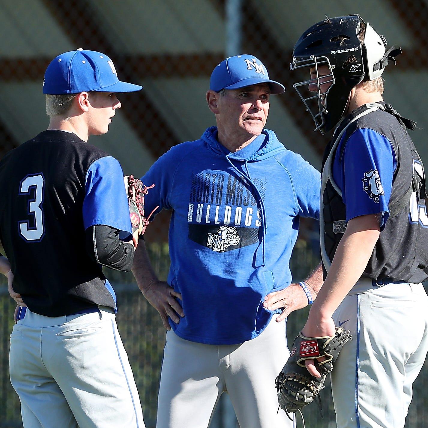 North Mason coach Geyer balancing baseball, cancer fight