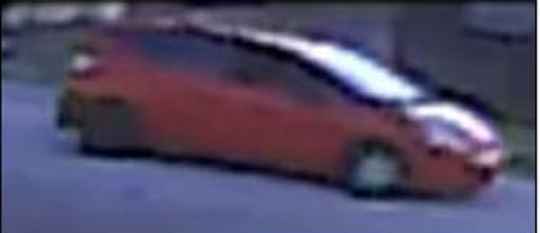Rockledge police are looking for an armed robbery suspect who they say was driving a red hatchback when she robbed a Walgreens and a Subway.