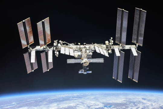The International Space Station as of October 2018.