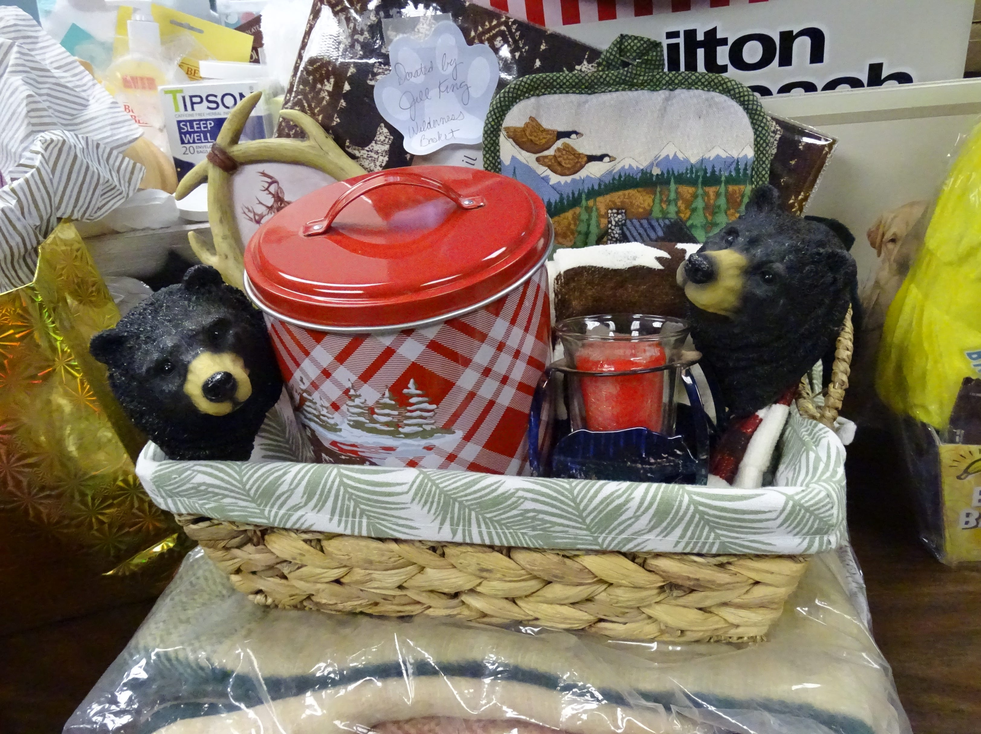 The Humane Society Serving Crawford County will have its 11th annual Puttin' on the Dog fundraiser this Friday, May 3. Doors open at 5:30 p.m. Gift baskets, gift certificates and other prizes will be raffled or auctioned off during the event. All proceeds benefit the local humane society.