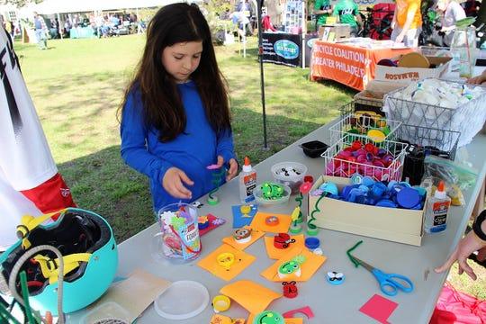 There are plenty of activities for children at the Sustainable South Jersey Earth Festival at Croft Farm.