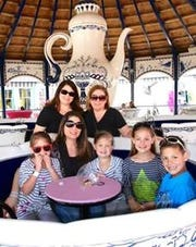 Take Mom for a spin at Morey's Piers in Wildwood. Moms get free admission to the Tea Cups ride on Mother's Day.