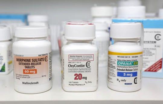Prescription pain pills that are opioids.