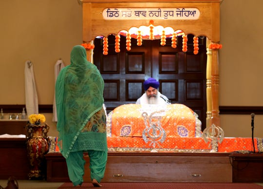 A prayer service was held at the Guru Nanak Society of Greater Cincinnati in West Chester Monday. A member of the Sikh community attended prayer service there was found dead later that night with three other family members at their apartment in West Chester.