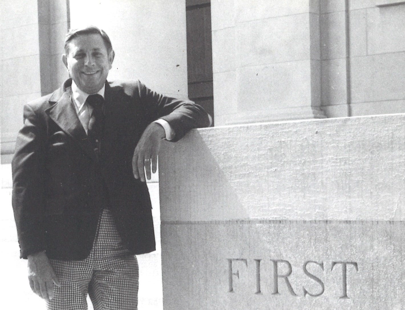 Pastor John Laida at First Baptist Church.