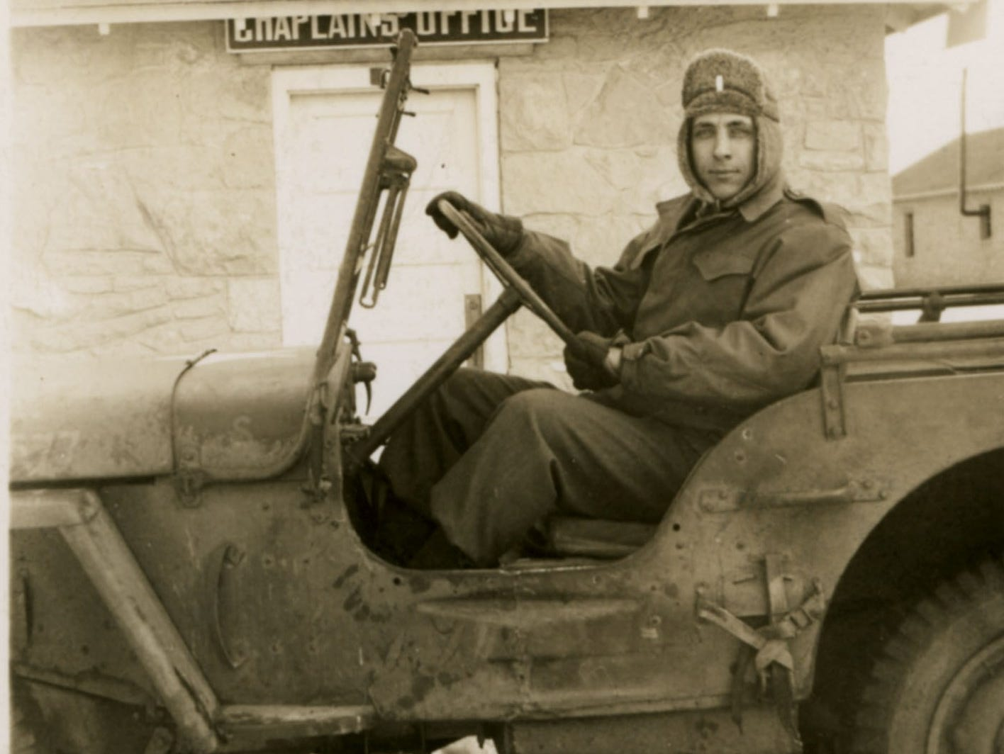 At 23, John David Laida was the youngest chaplain in the Army at the time he signed up for duty during World War II.