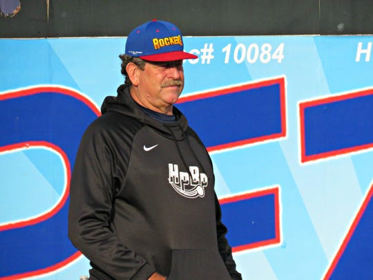 High Point Rockers pitching coach Frank Viola.