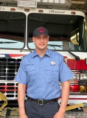 Roselle Firefighter Zach Weissglass