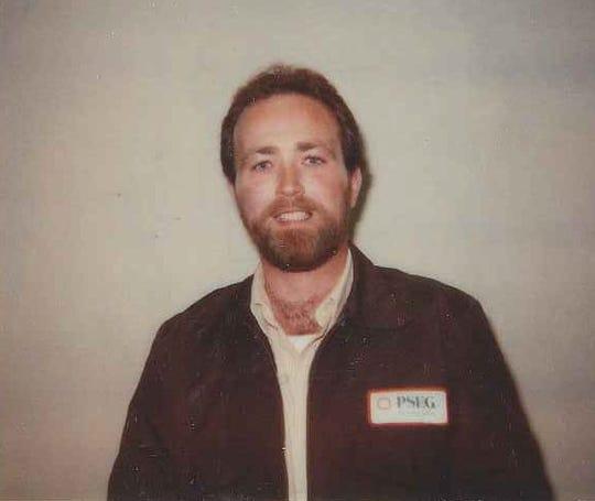 Bill Dwyer as a meter reader in 1987.