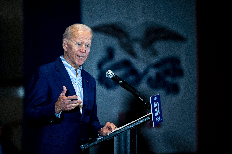 In Iowa, Joe Biden responds to Bernie Sanders criticism: 'I'm proud of my record'