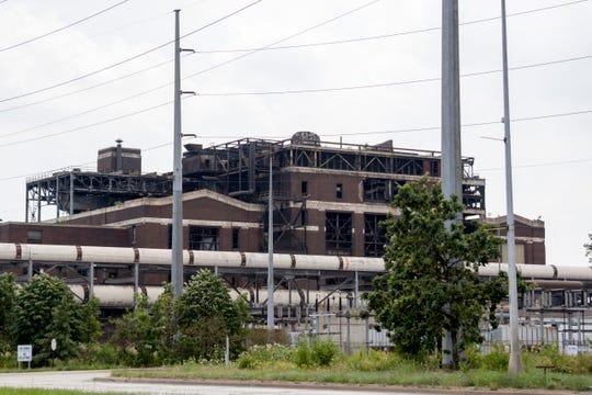 AK Steel plant on Miller Road in Dearborn, July 27 2017.