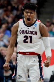 Gonzaga forward Rui Hachimura is slated to go the Pistons at No. 15 in CBS Sports' most recent NBA mock draft.