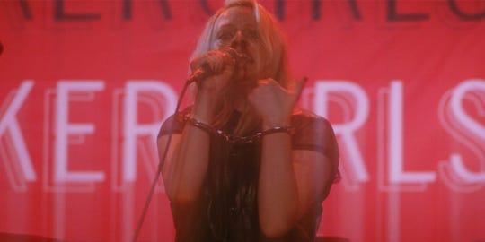 "Elisabeth Moss in ""Her Smell."""