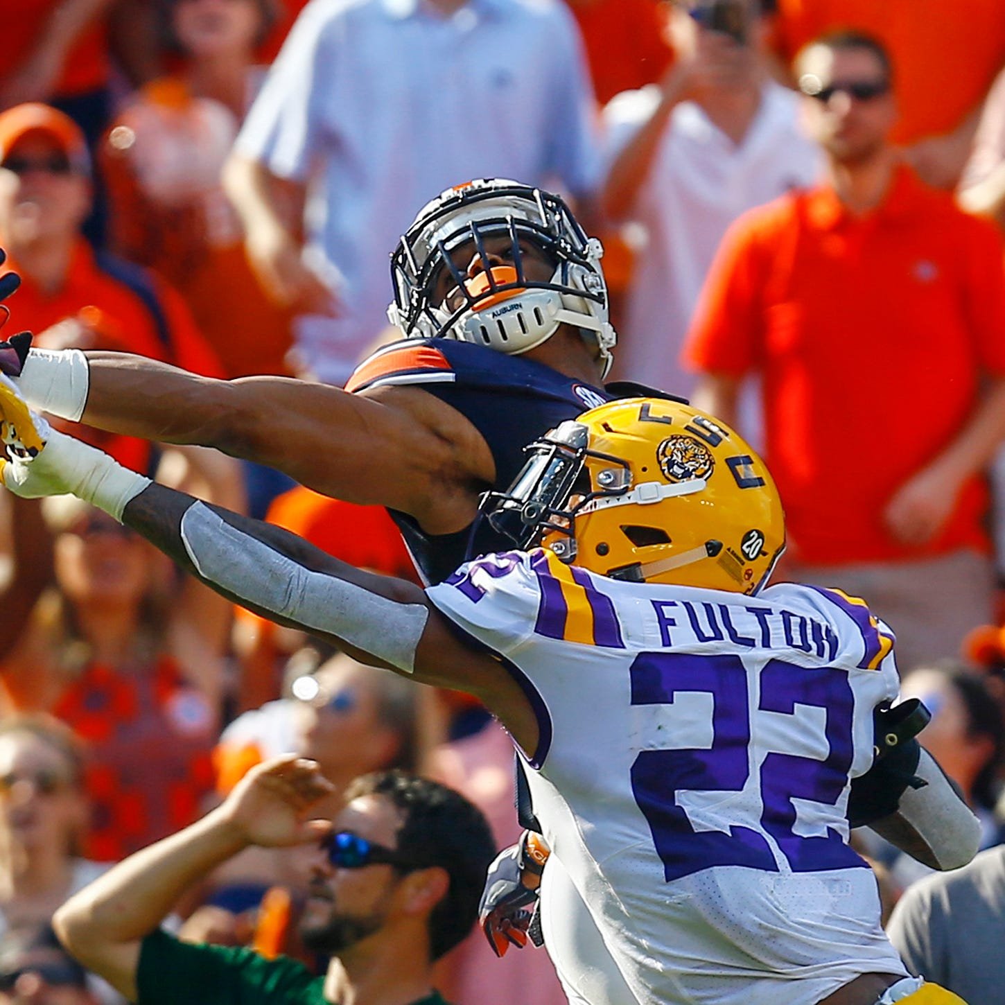 Lions take LSU cornerback Kristian Fulton in CBS Sports' 2020 NFL mock draft