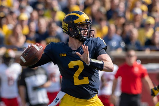 Michigan quarterback Shea Patterson will have a number of dangerous targets to choose from next season.