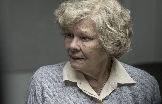 "Judi Dench in ""Red Joan."""