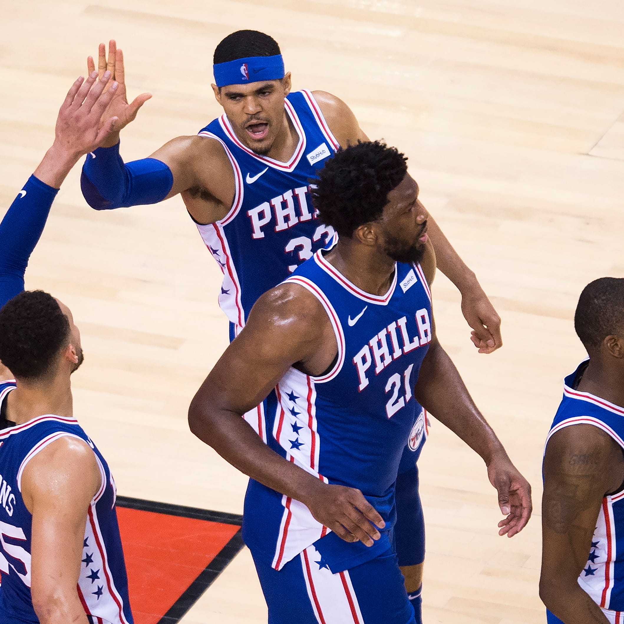 Monday's NBA playoffs: 76ers snap 14-game skid in Toronto, pull even in East semifinal