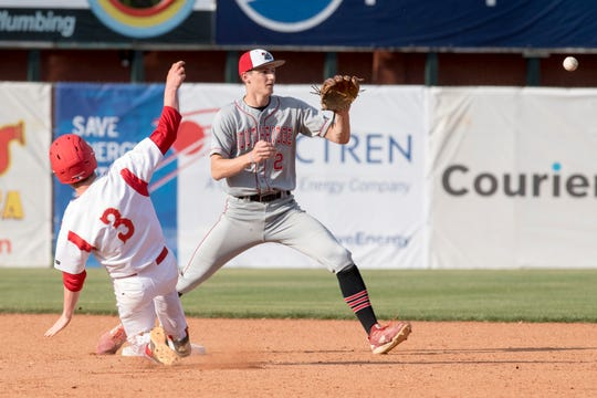 """Southridge shortsop Colson Montgomery is being recruited by schools all over the country. """"I could name drop and it's ridiculous,"""" said Southridge baseball coach Gene Mattingly."""