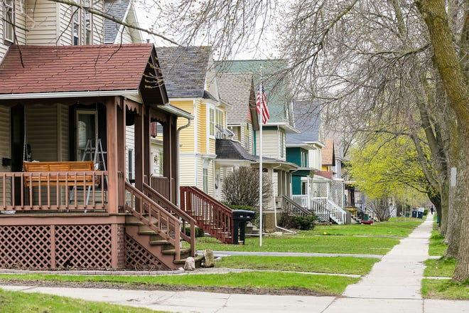 A residential neighborhood on Second Street was part of the 2019 city-wide assessment of properties. Property values increased about 11%, on average. Fond du Lac, Wis. Tuesday, April 30, 2019. Doug Raflik/USA TODAY NETWORK-Wisconsin