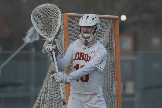 Rocky Mountain lacrosse goalie Zach Groff will play Division I college lacrosse at Rutgers University.