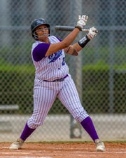 North Fort Myers graduate Natavia Ellis is batting .398 with seven homers and 47 RBIs for the top-ranked Florida SouthWestern softball team. FSW opens play in the FCSAA state tournament in Sanford on Thursday. The top two teams in the eight-team field advance to the national tournament, to be held May 22-25 in St. Georges, Utah.