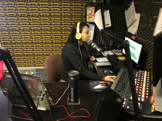 Gabriela Gamboa, general manager at LaMás Grande a Spanish-language radio station in Green Bay, plans to participate in the Day Without Latinxs & Immigrants in Madison Wednesday. La Más Grande will stay on the air but without a live DJ.