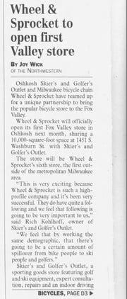 Wheel & Sprocket opens in Oshkosh