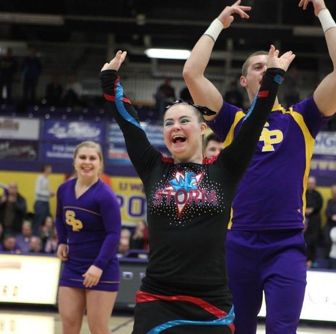 UWSP briefs: Student athletes receive awards; cheerleaders work with 'Dream Team'