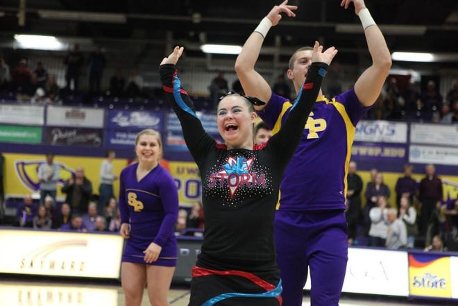 For the ninth-straight year, the UW-Stevens Point cheerleading team has helped with the Dream Team, a group of special needs individuals of all ages.