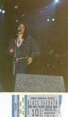 Black Sabbath made a stop on its Mob Rules Tour on March 10, 1982, at Brown County Veterans Memorial Arena.