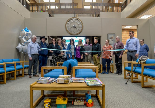 Alluvion Health holds a grand opening celebration for its new health clinic in downtown Great Falls.
