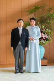 Crown Prince Naruhito and his wife Crown Princess Masako. Naruhito became Japan's emperor and acceded the throne Wednesday, May 1.