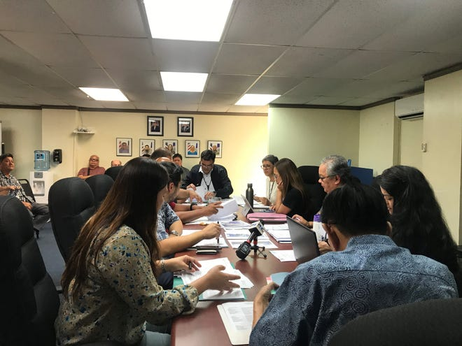 The Port Authority board moved forward Tuesday with the Supreme Court of Guam's order to provide back wages to reinstated financial affairs controller Jose Guevara. The settlement of at least $600,000, according to board discussion, is calculated on his base salary at the time Guevara was terminated.
