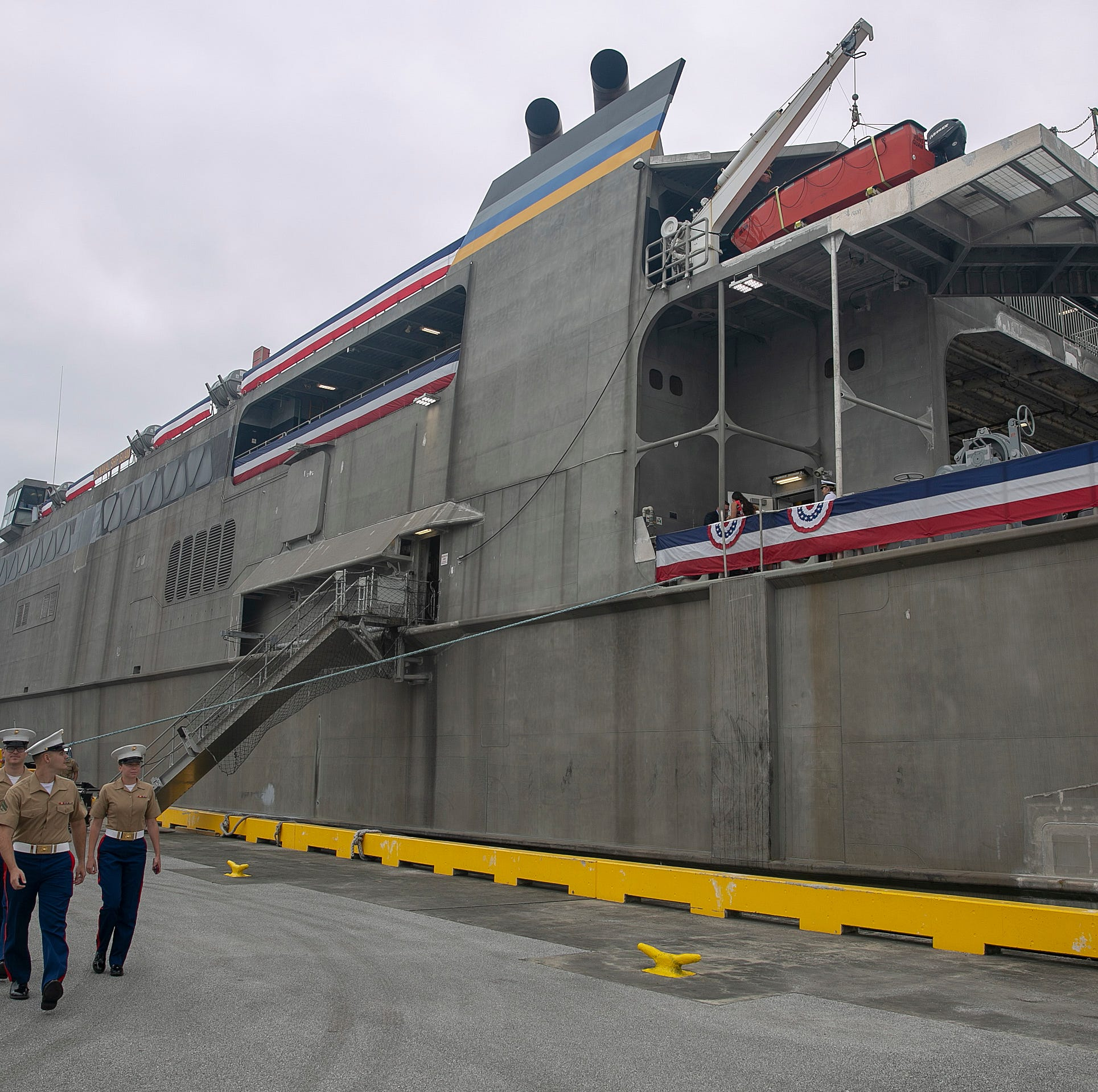 Military ship named after Guam