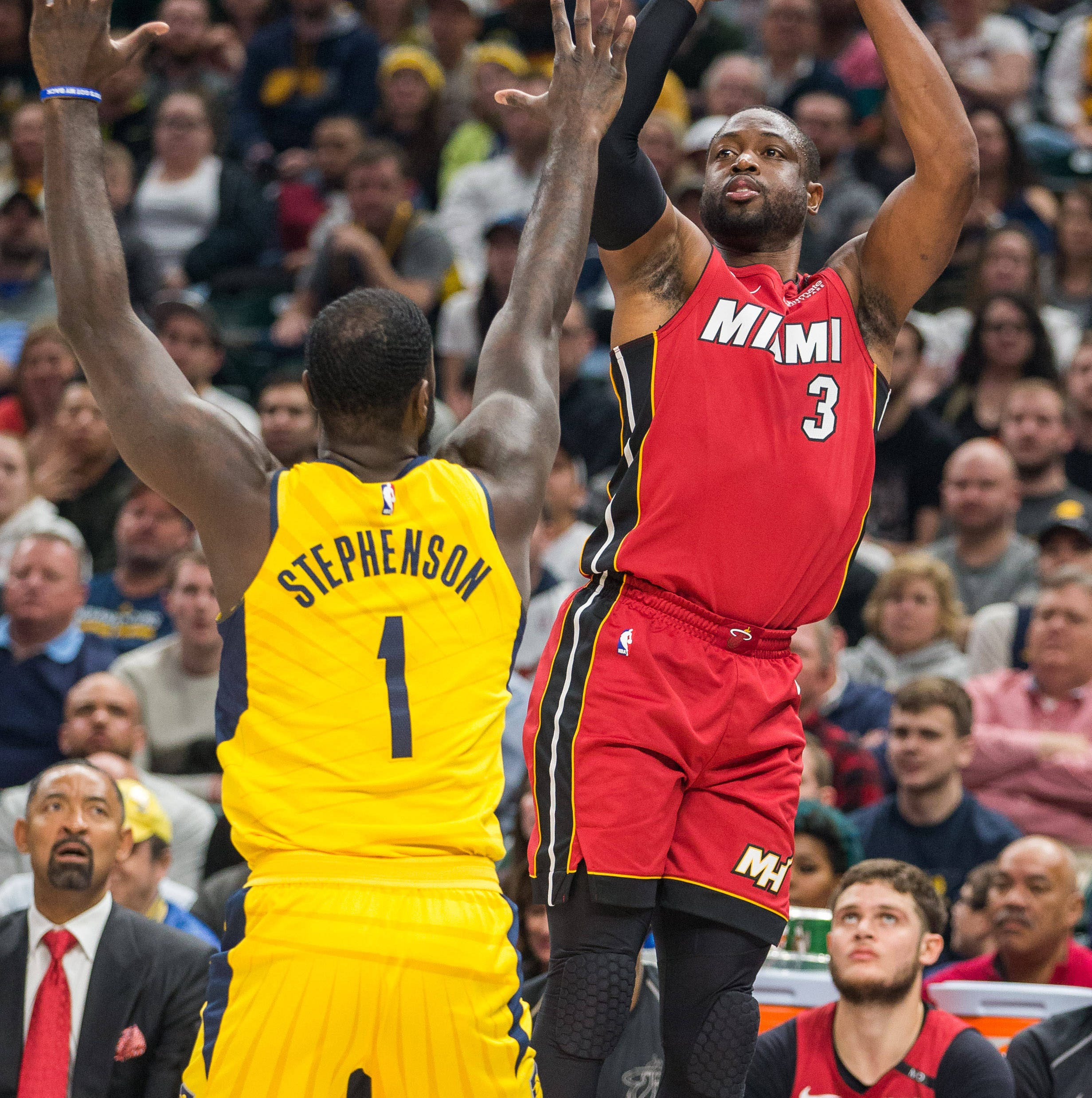 Dwyane Wade on Lance Stephenson: 'He was annoying as hell'