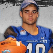 Freshman Jake Bain has quit the Indiana State football team after one season.