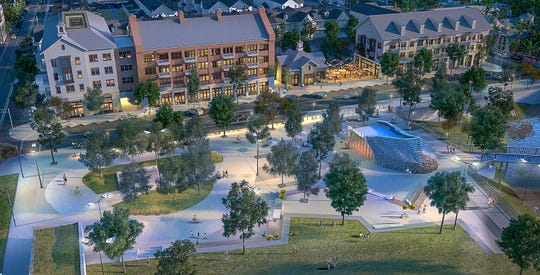 Old Town Design Group plans to build the project called Union Square in a city block between State Road 32 and Jersey Street in Westfield.