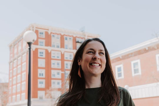 Laura Bergus, an Iowa City attorney, announced Tuesday she was running for an at-large Iowa City Council seat.