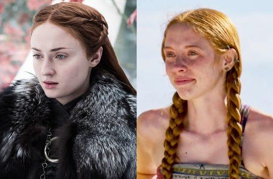 Sansa Stark, left, and Victoria Baamonde
